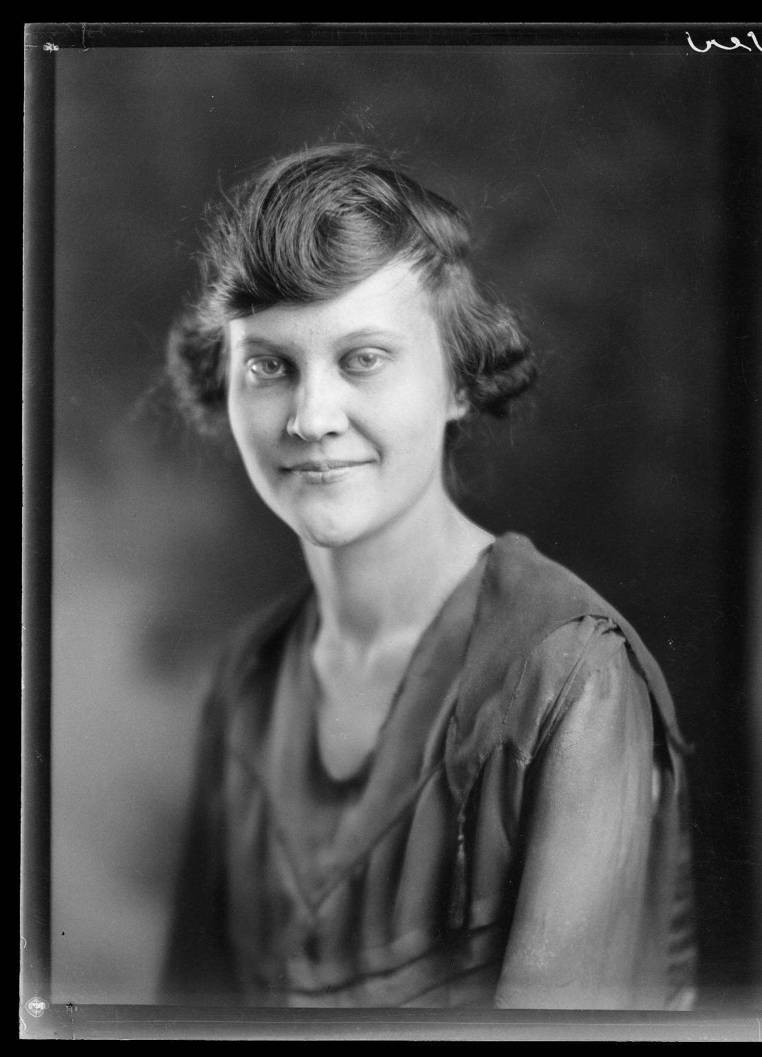 Portrait of Mona Graham