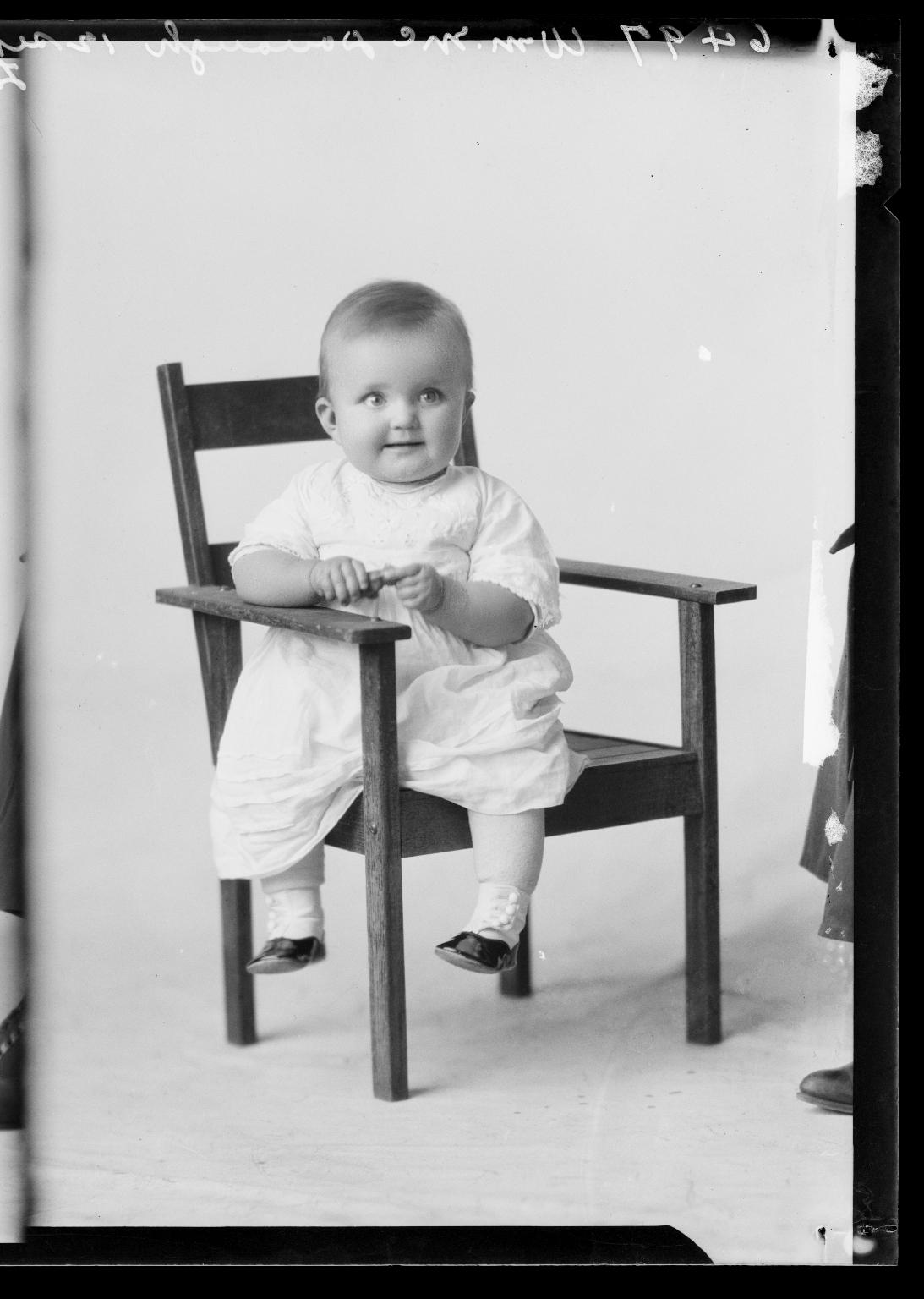 Portraits of child of William McDonough
