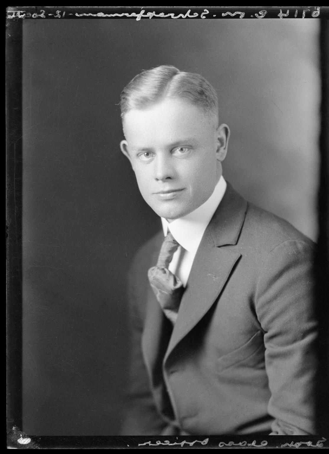 Portrait of C. M. Schrepperman