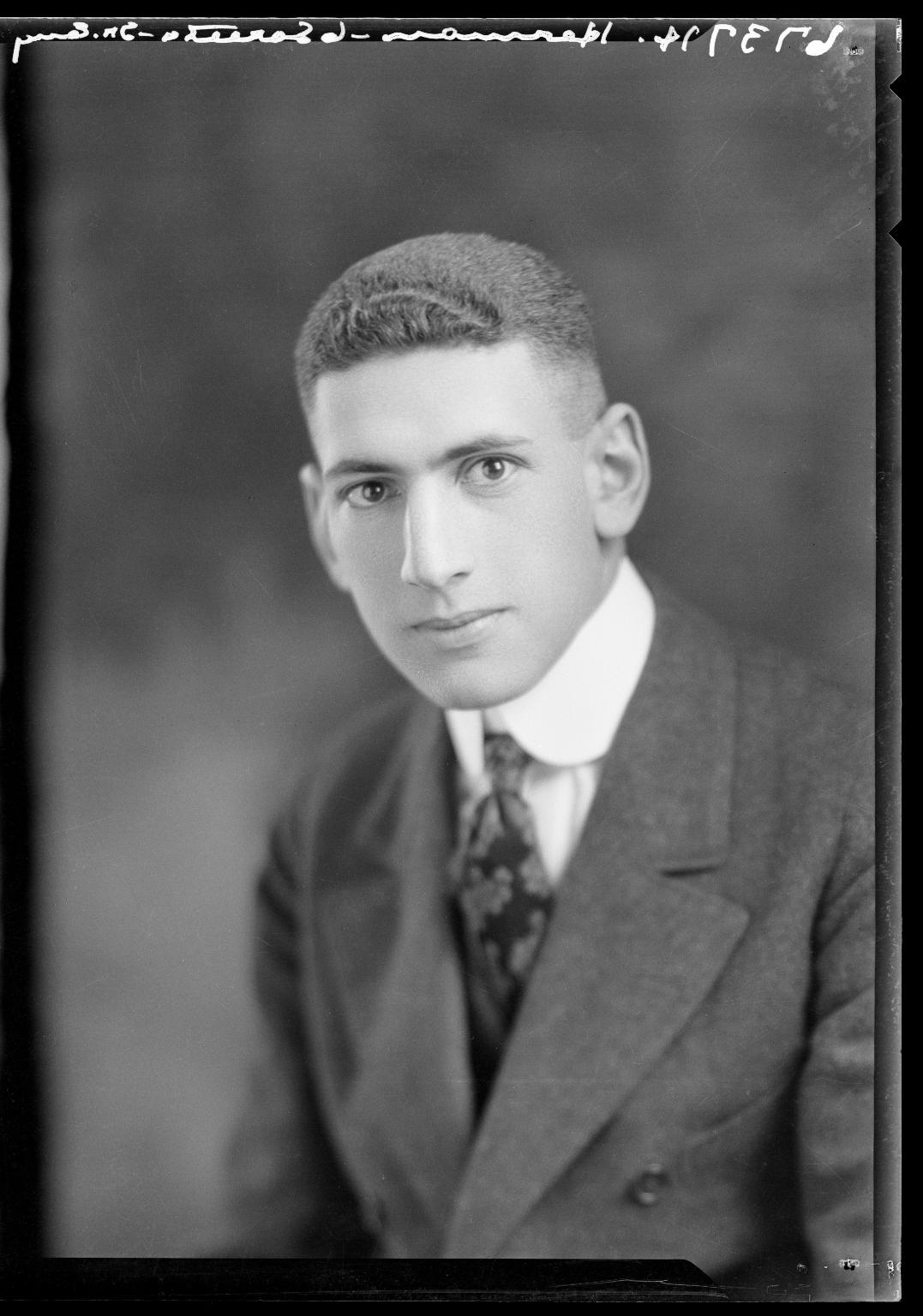 Portrait of Harry Herman