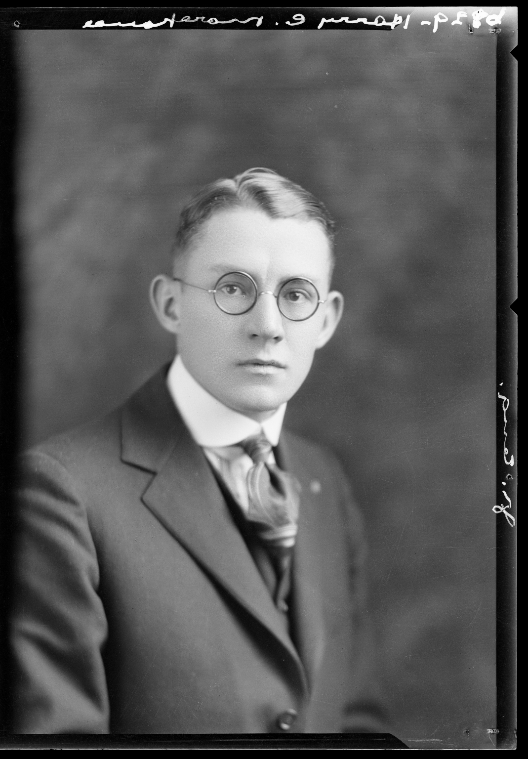 Portraits of Harry Morehouse