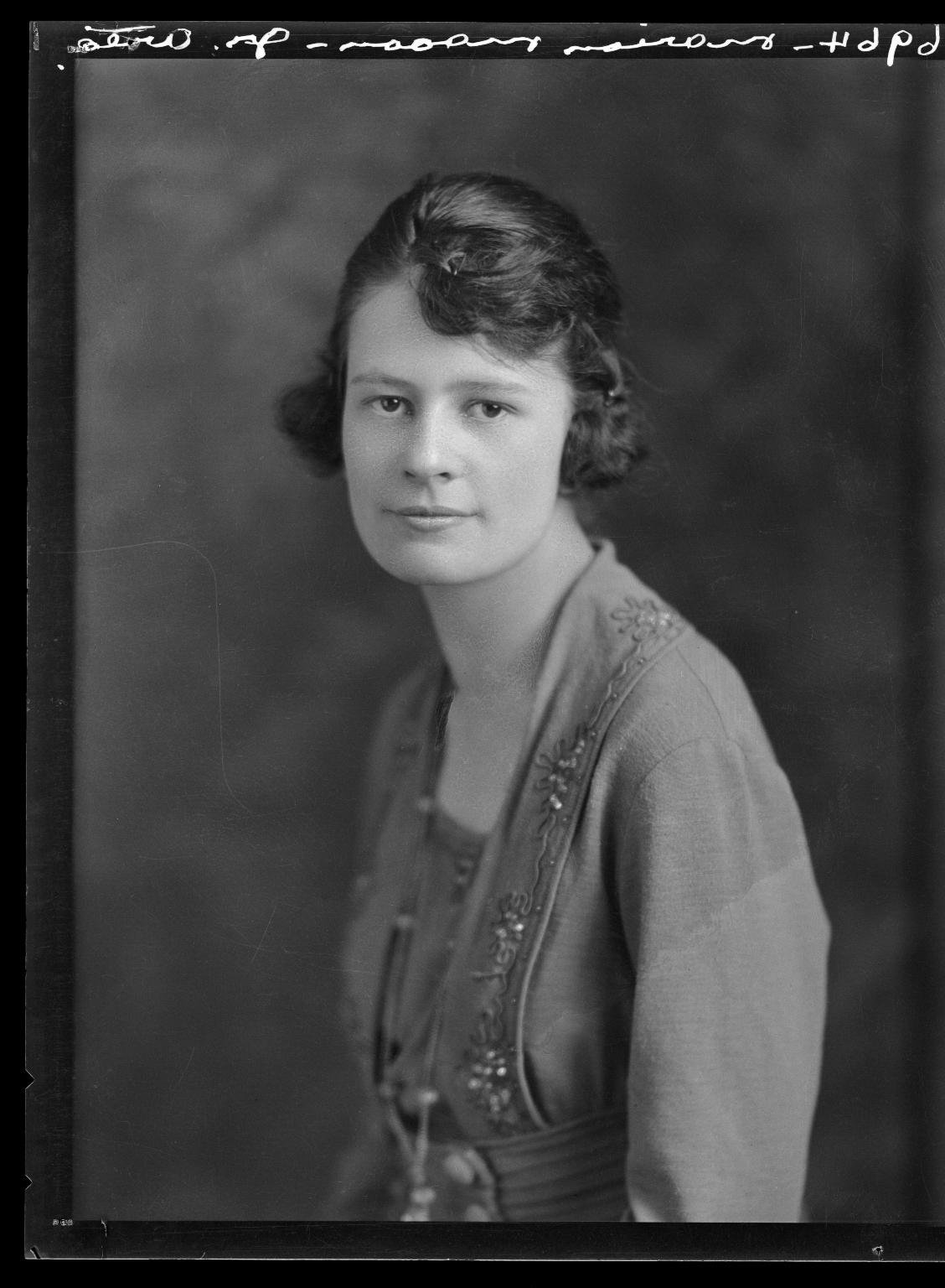 Portraits of Marion Mason