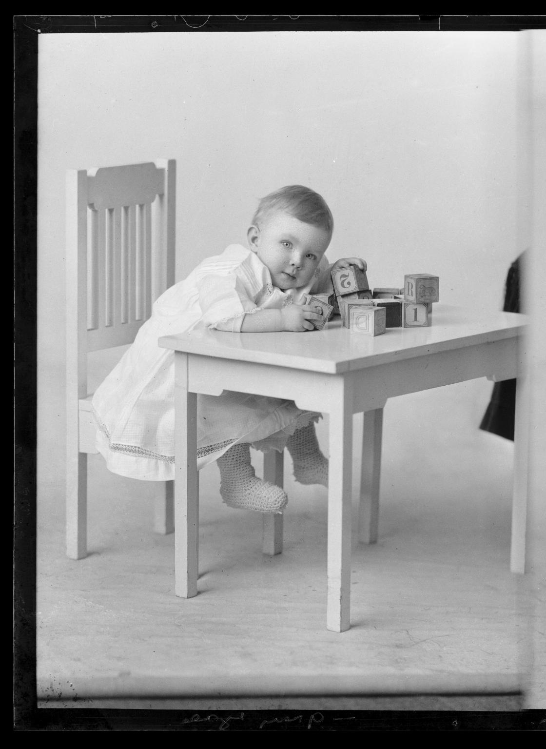 Portraits of child of Mrs. Irene Boatwright