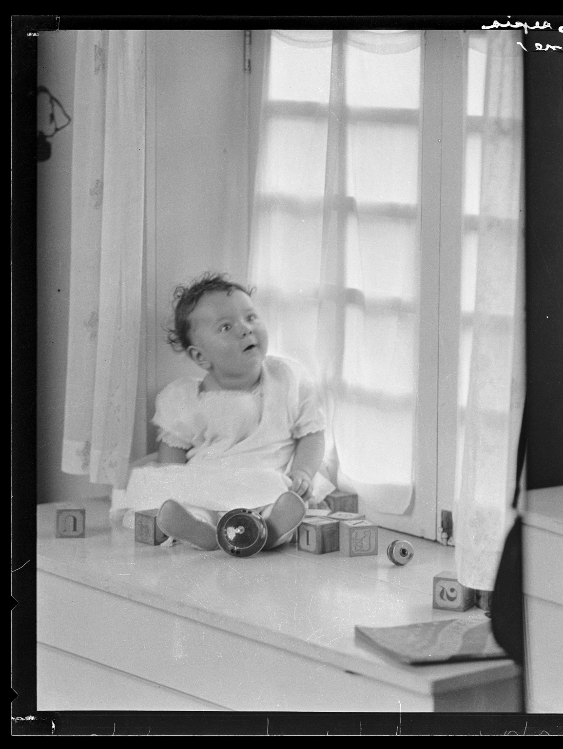 Portraits of child of Russell Thompson