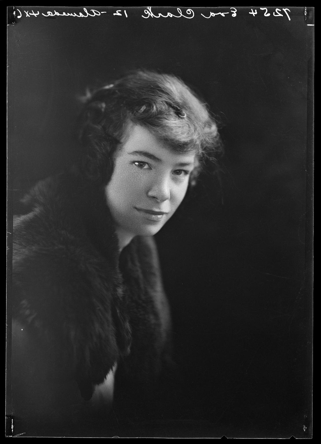 Portrait of Eva Clark
