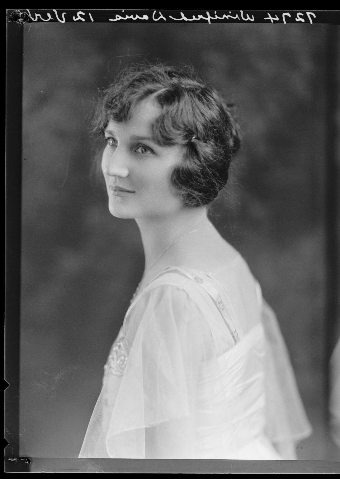 Portraits of Miss Winifred Davis