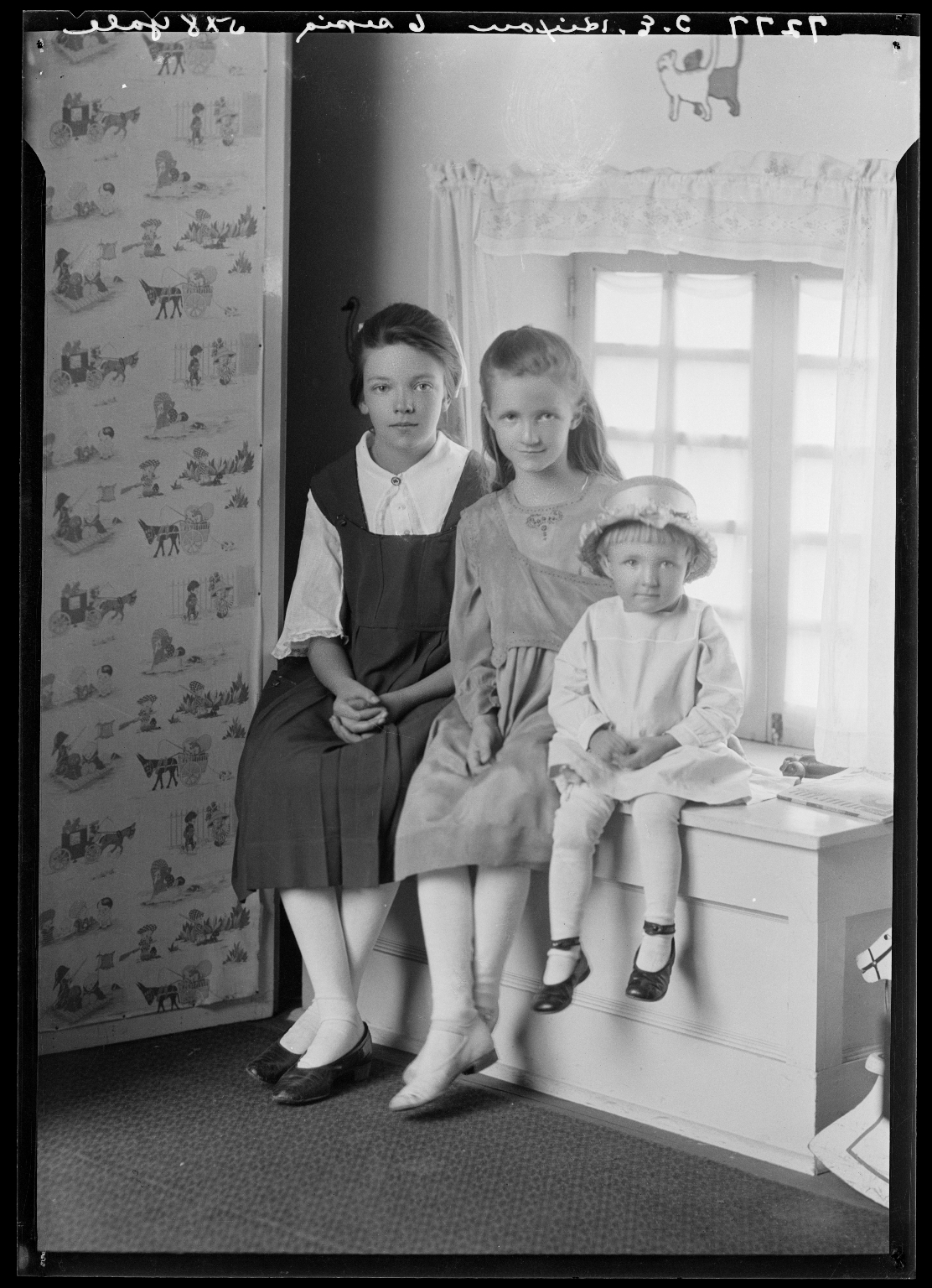 Portraits of children of Mrs. T. E. Hixon