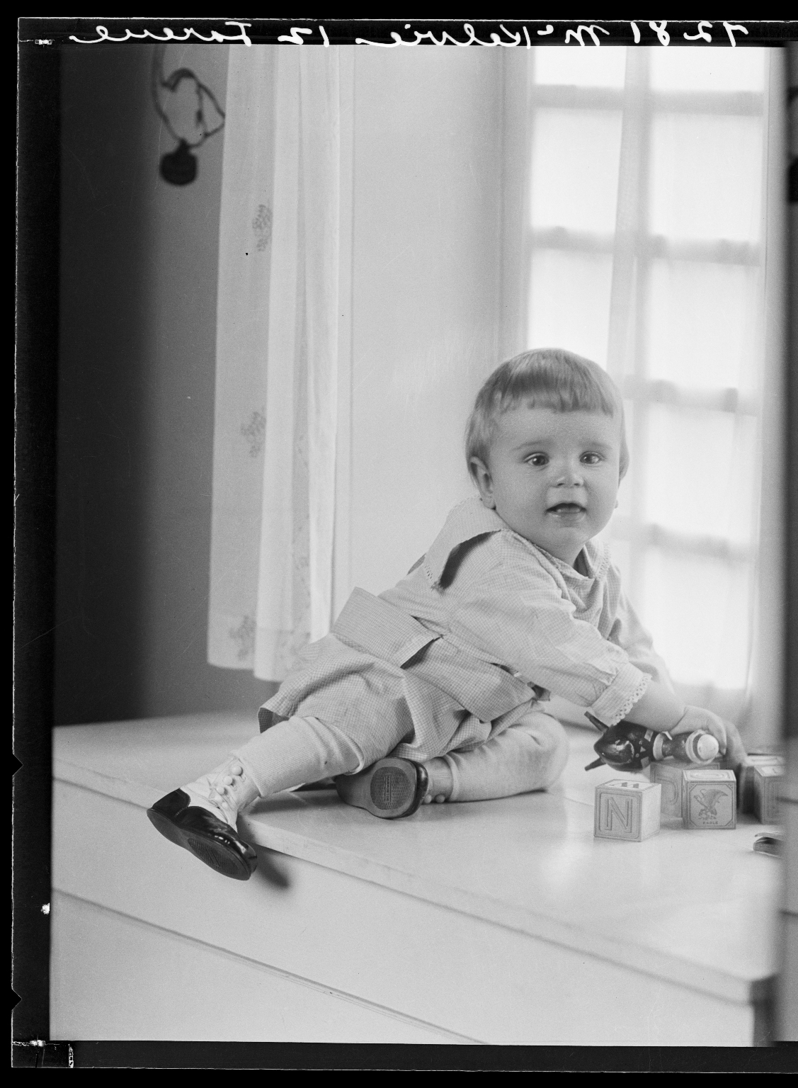 Portraits of child of William R. McKelvie