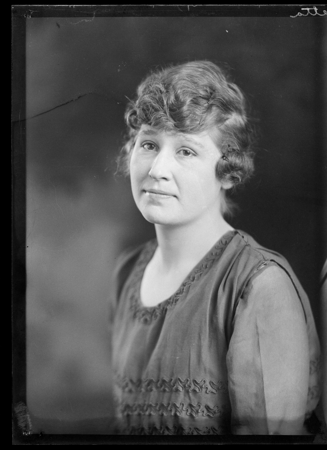 Portraits of Miss Blanche Shockey