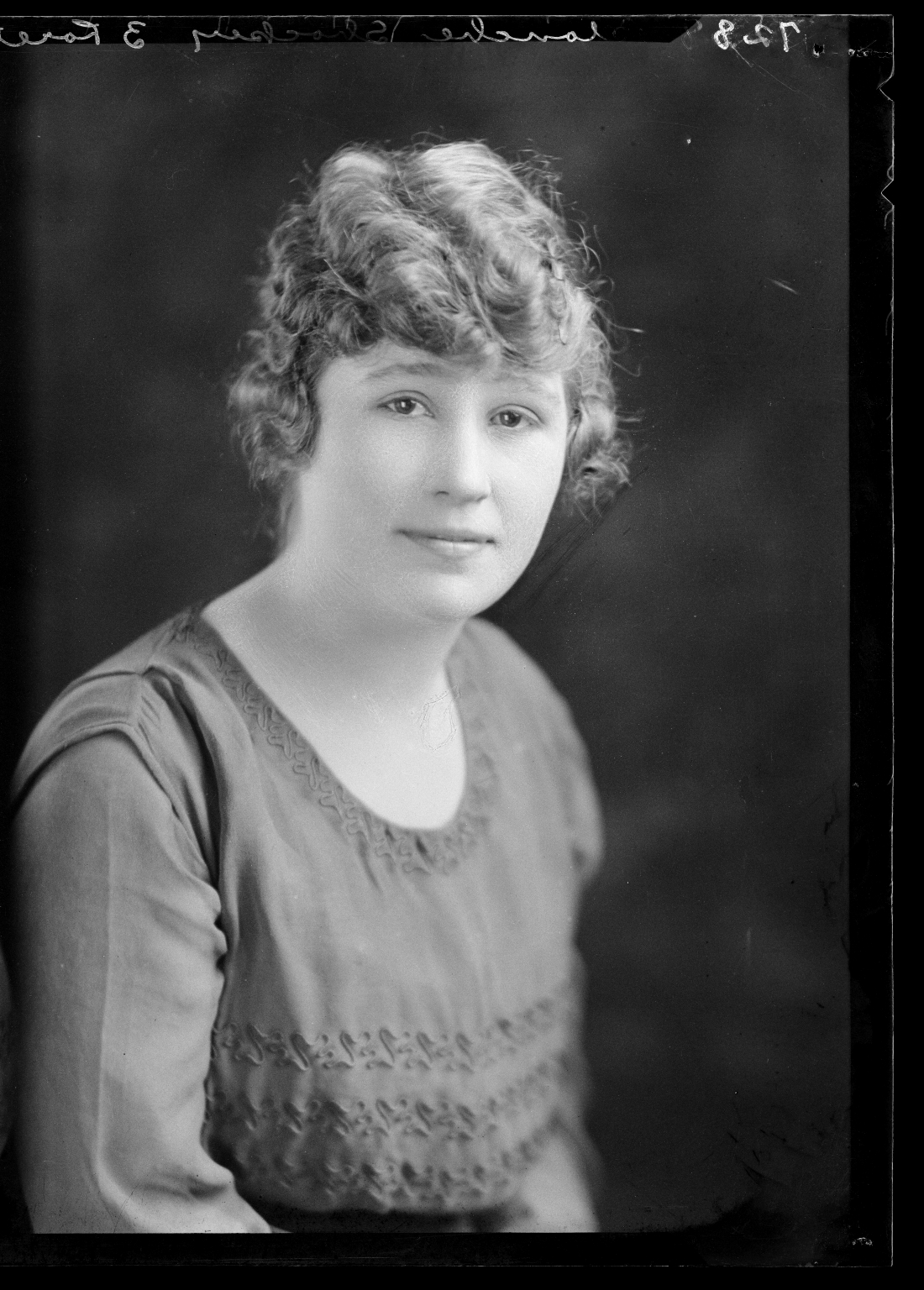 Portraits of Miss Blanche Shockey