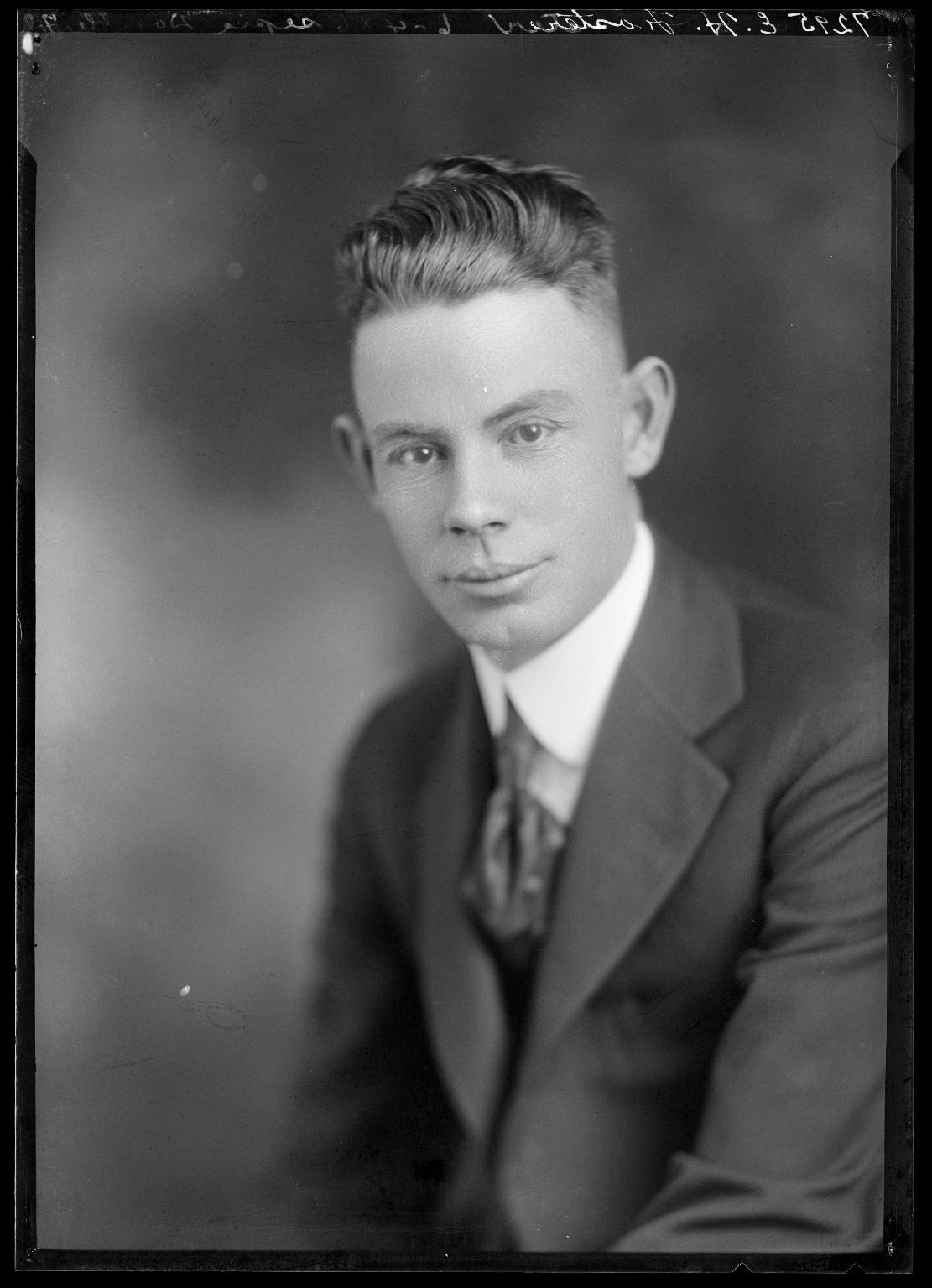 Portrait of E. H. Foster