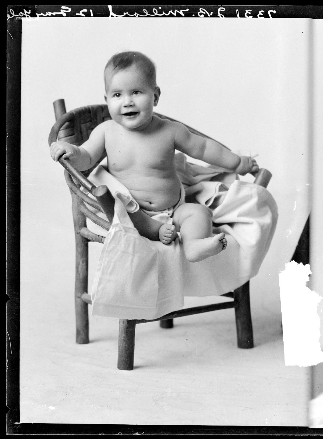 Portraits of child of J. B. Millard