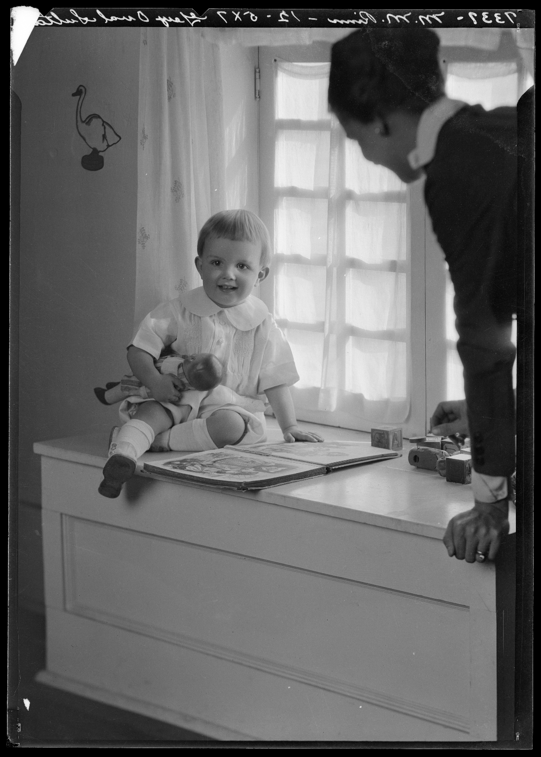Portraits of Mrs. Mike Rinn and child