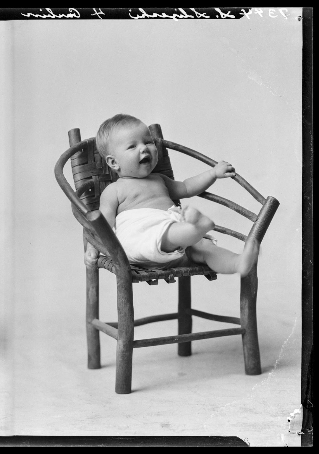 Portraits of child of S. Slizeski