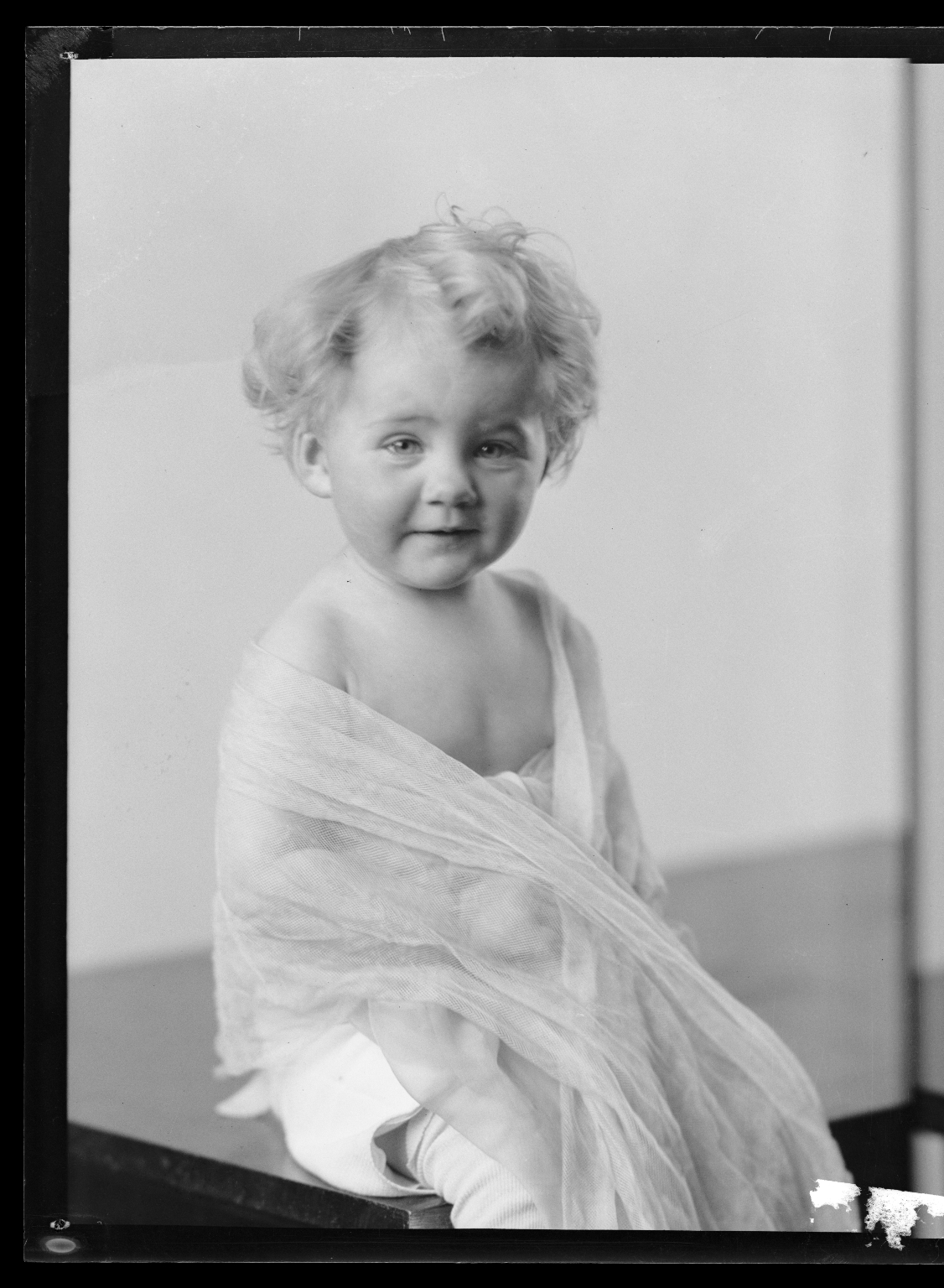Portraits of child of Howard Cordes