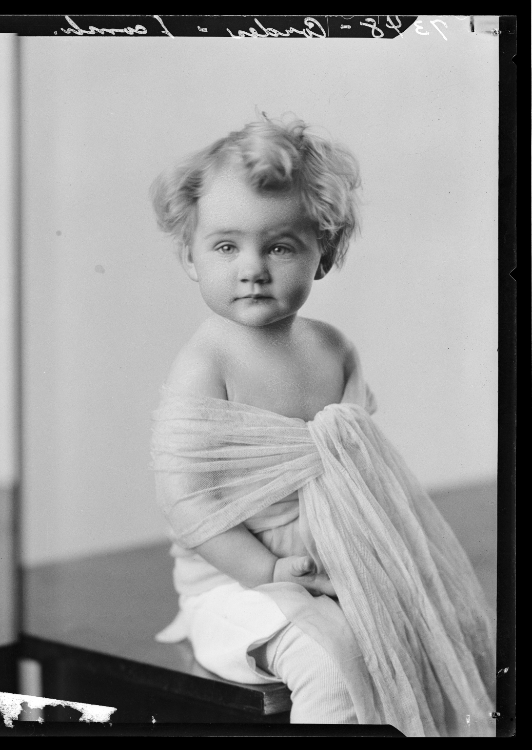 Portraits of child of Howard Cordes