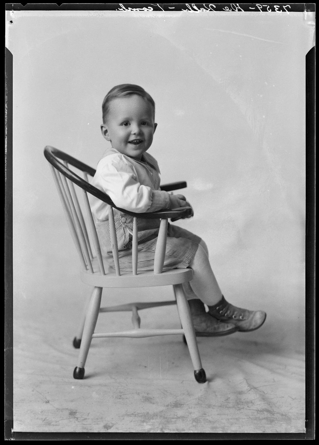 Portraits of child of J. E. DeKalb