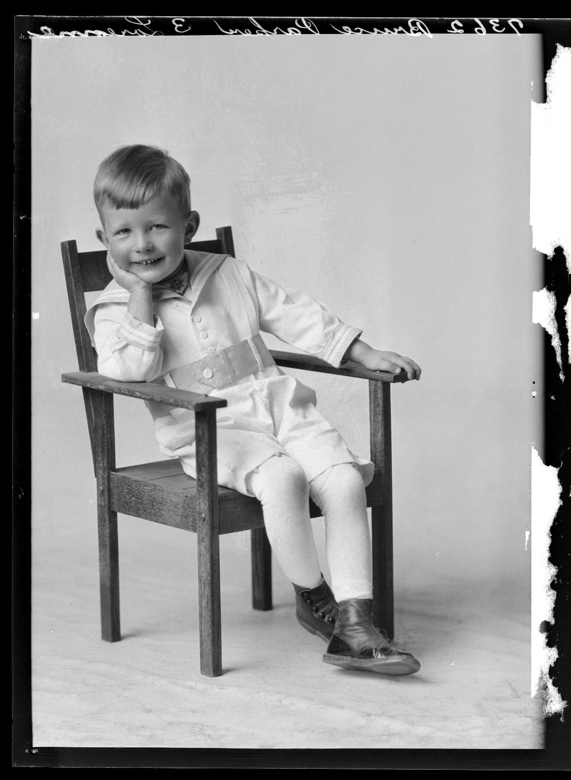 Portraits of child of Mrs. Bruce Parker