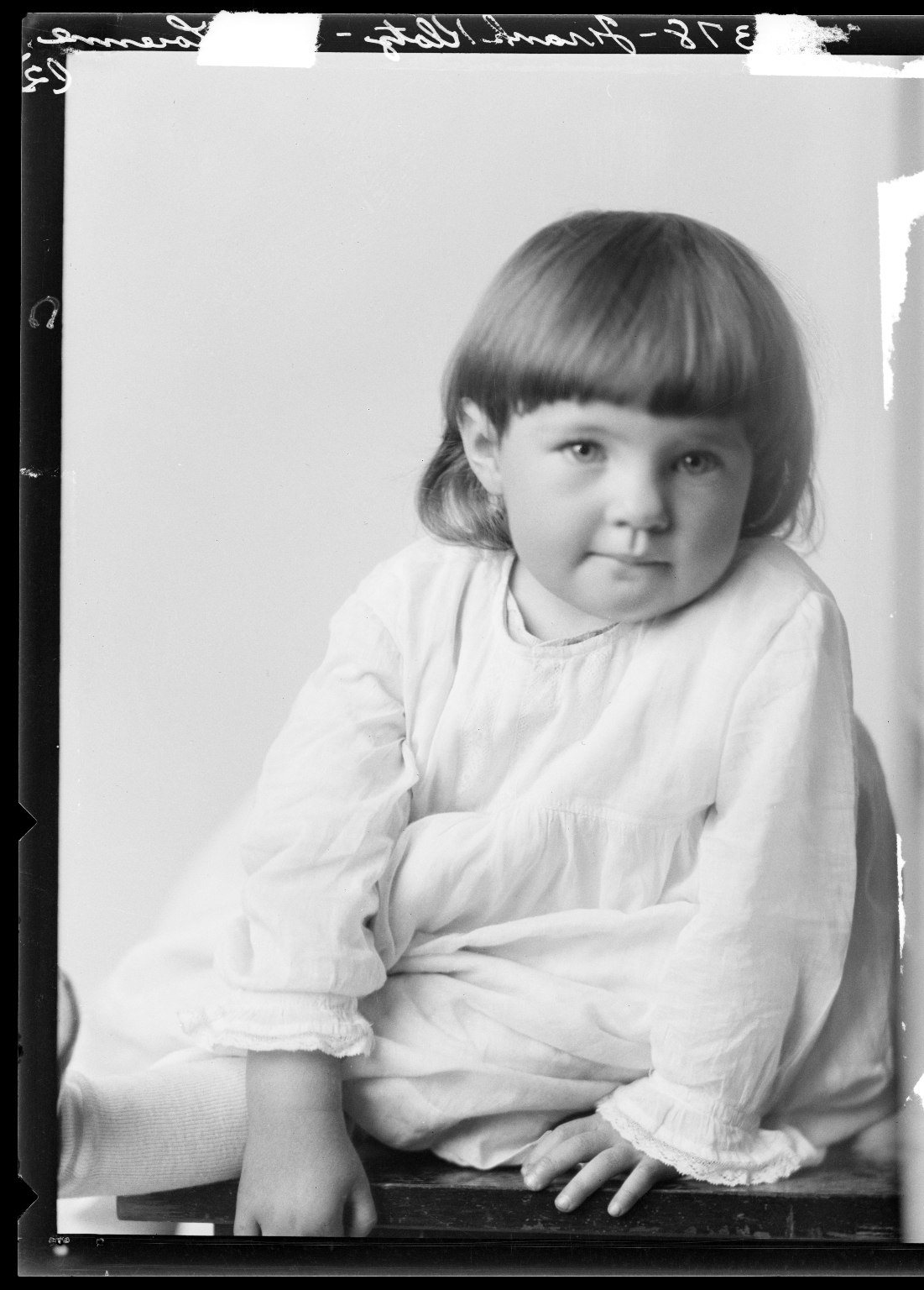 Portraits of child of Frank Klotz