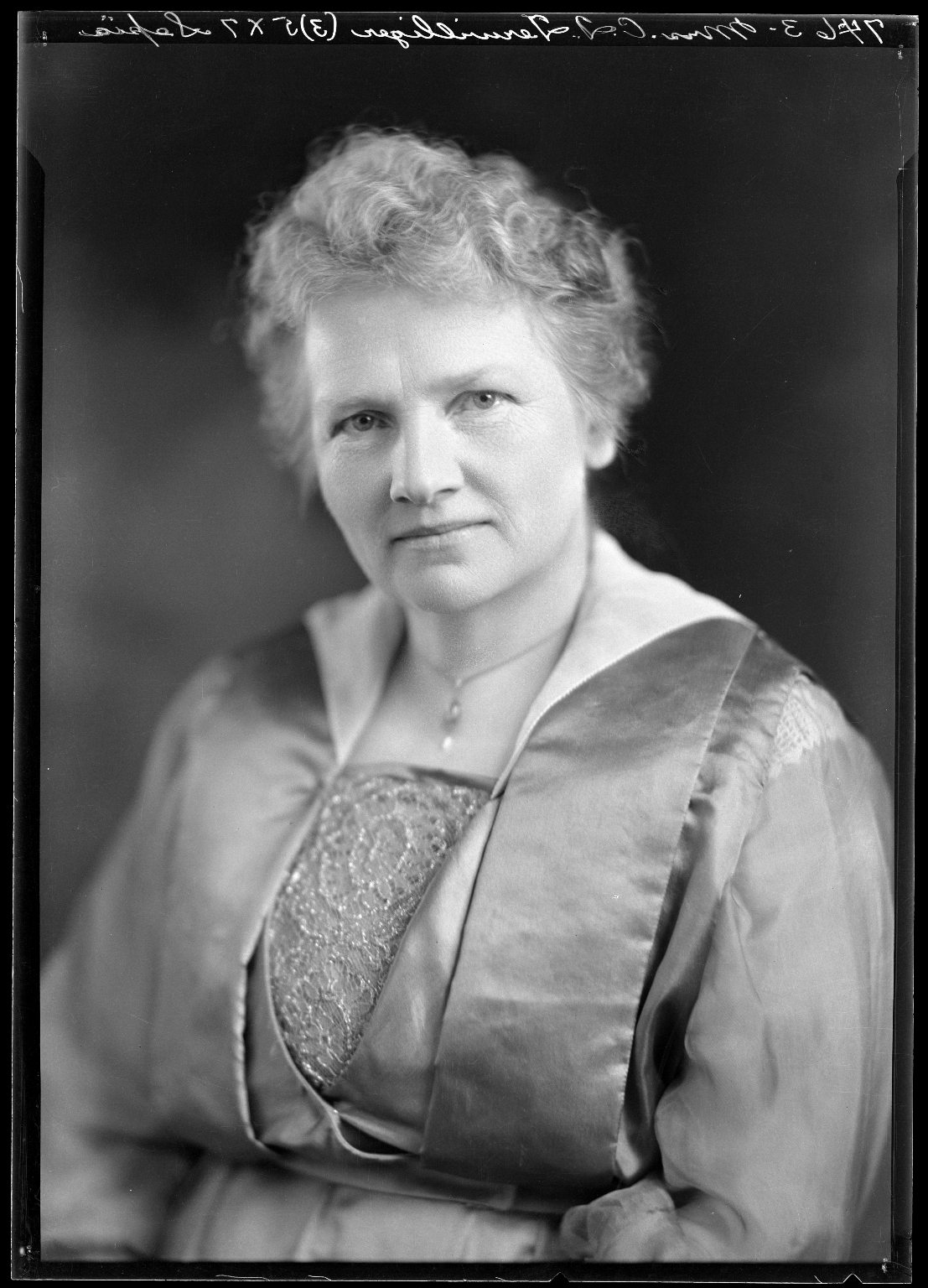Portrait of Mrs. C. I. Terwilliger