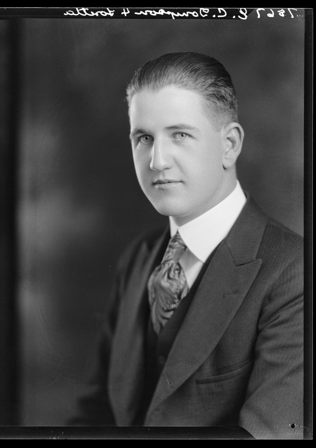 Portraits of E. C. Thompson