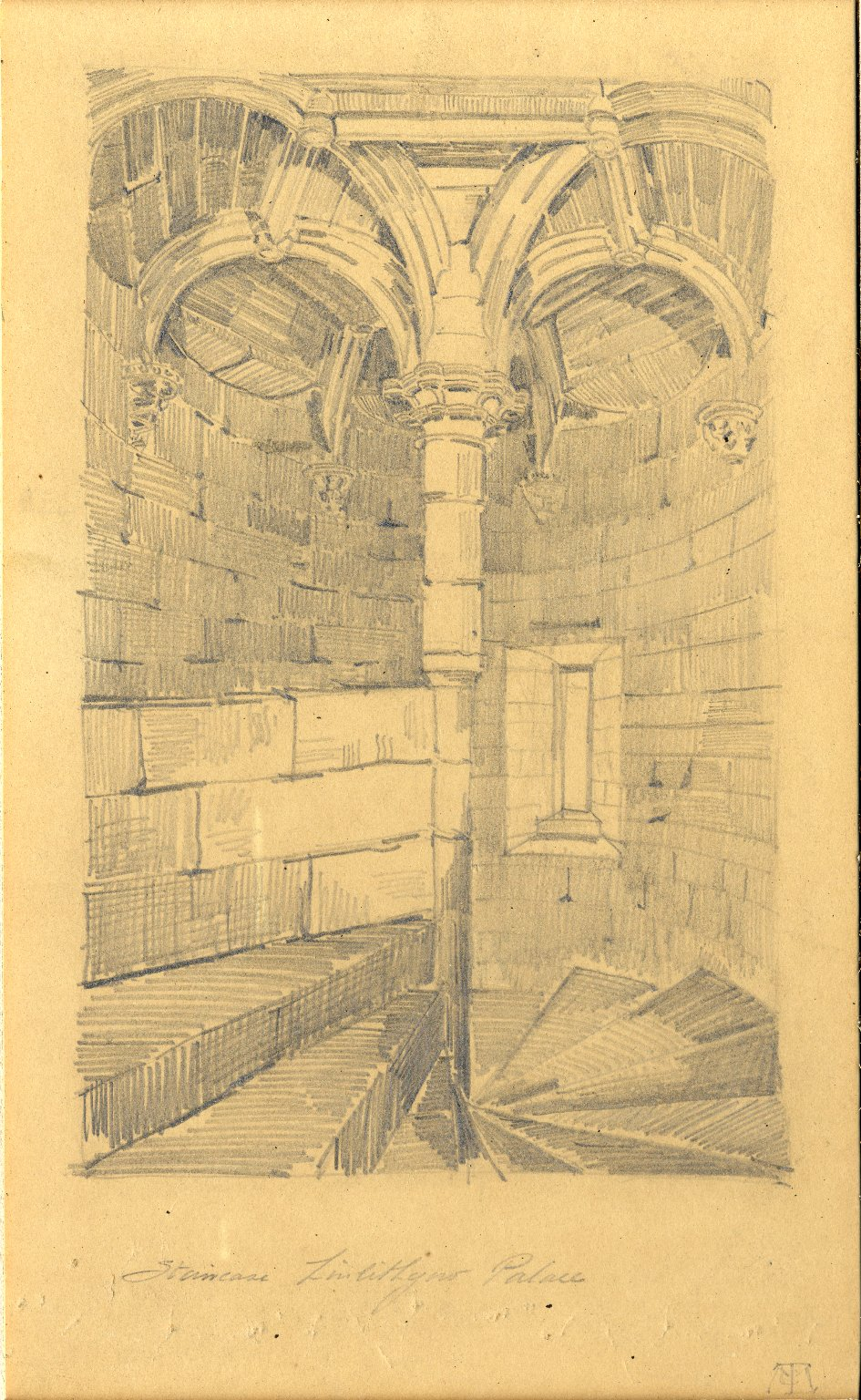 Staircase of Linlithgow Palace