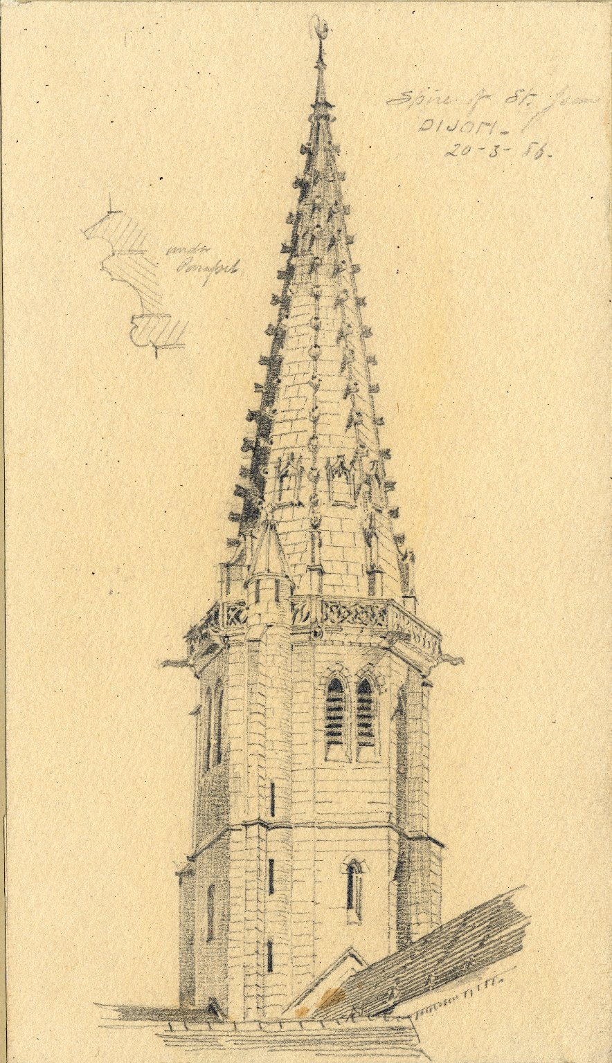 Spire of St. Jean