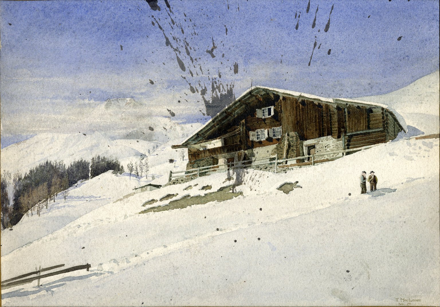 Chalet near Davos-Dorfli