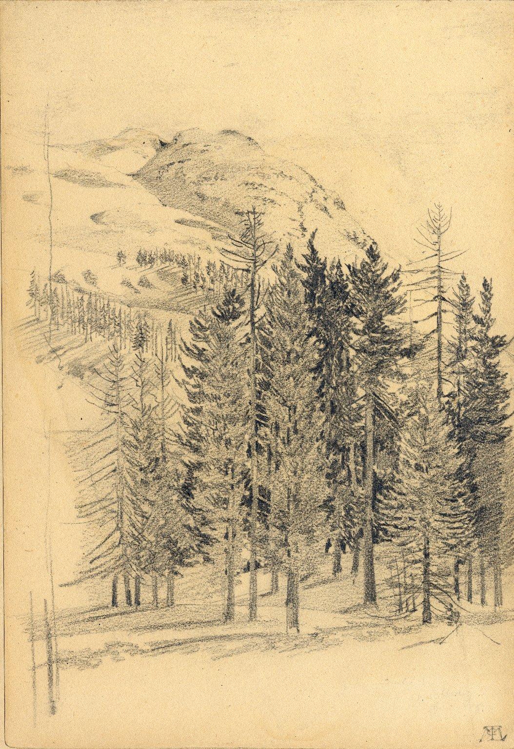 Landscape at St. Moritz