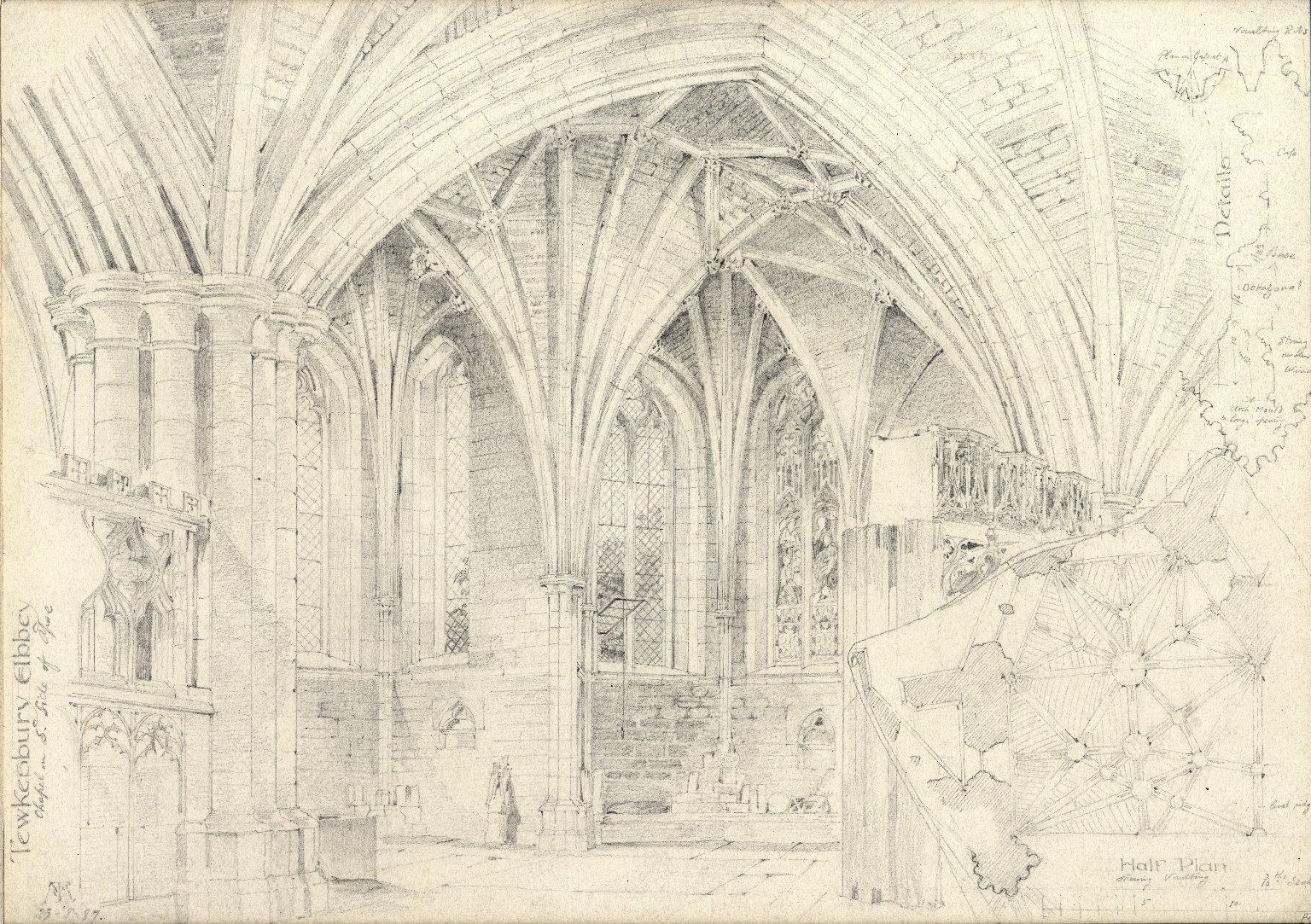 Chapel at Tewkesbury Abbey