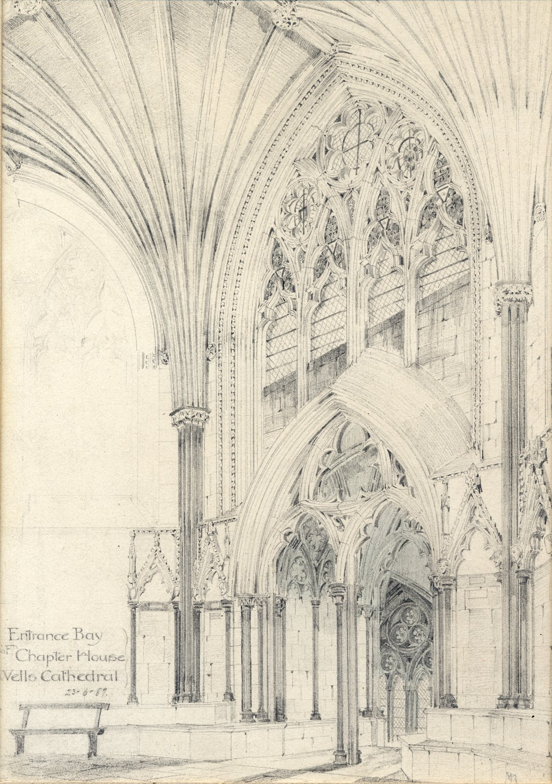 Entry to the Chapter House of Wells Cathedral