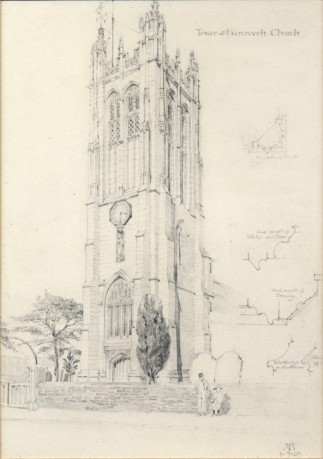Tower of Evercreech Church