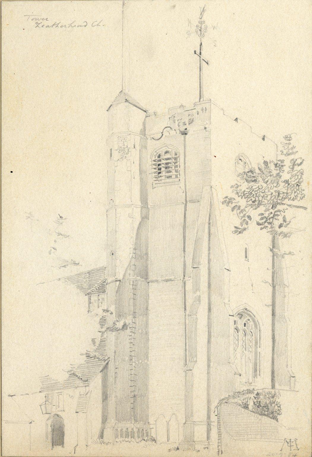 Tower of Leatherhead Church