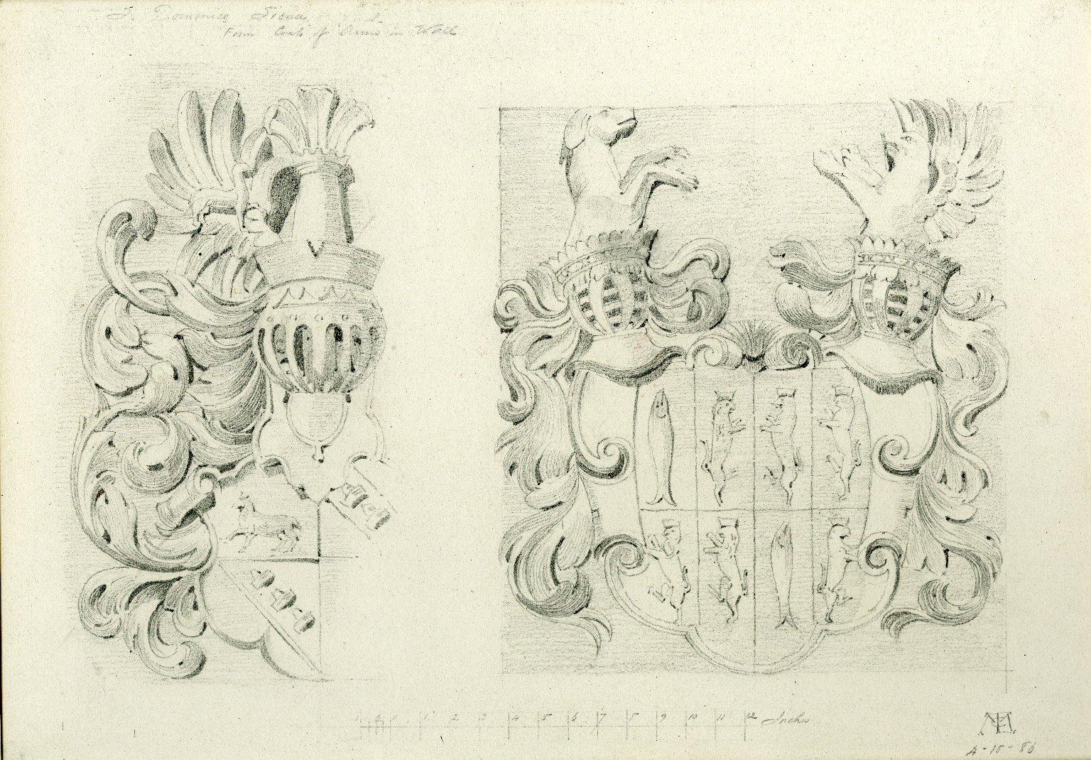 Coats of arms at San Domenico Church