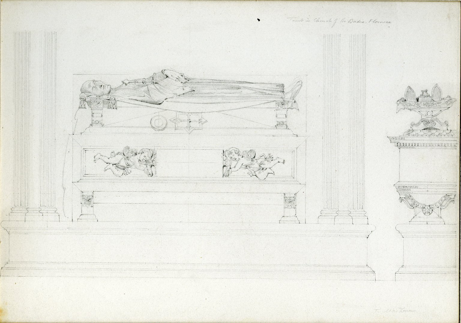 Tomb at Badia Fiorentina