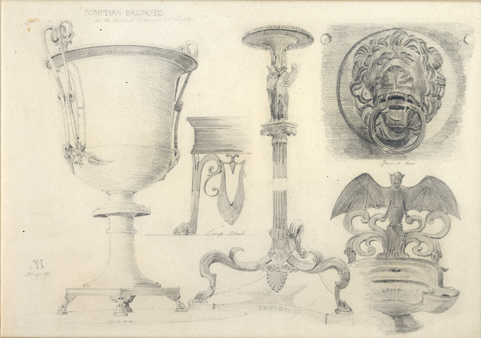 Pompeian Bronzes in the National Museum of Naples