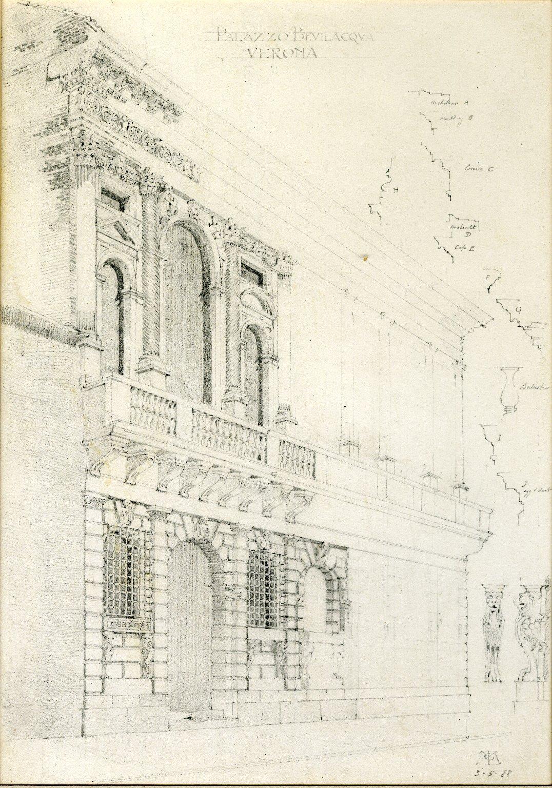 Exterior of Palazzo Bevilacqua