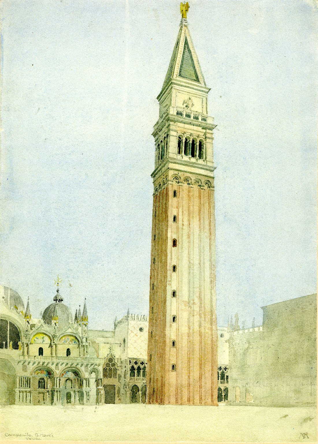 Campanile at St. Mark's Basilica