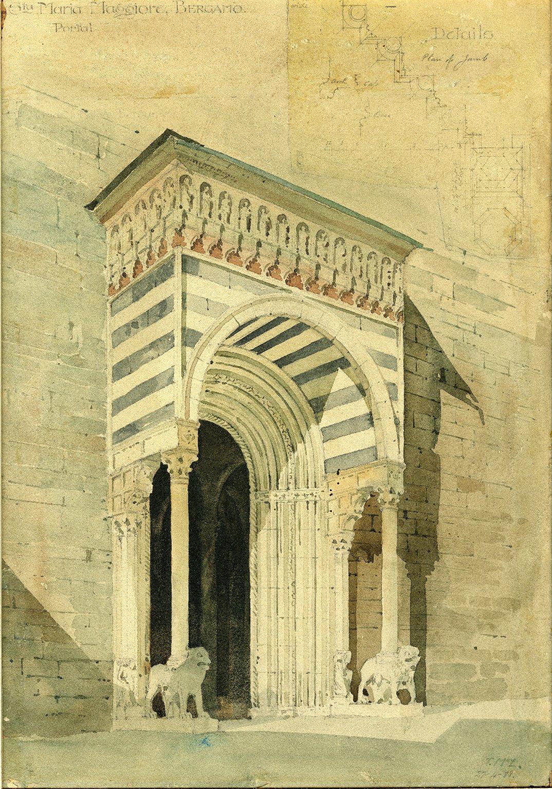 Portal at Santa Maria Maggiore Basilica
