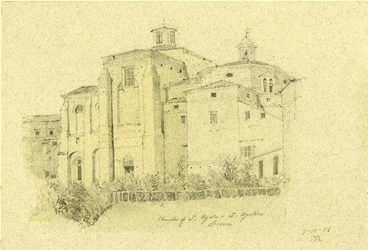 Sant'Agostino and Sant'Agata churches