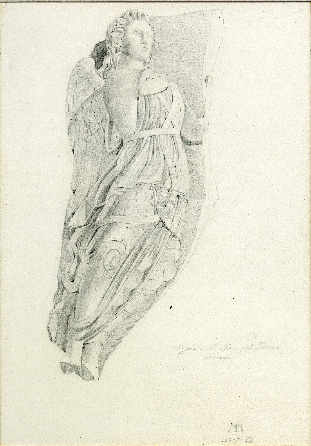 Angel figure in the Opera del Duomo