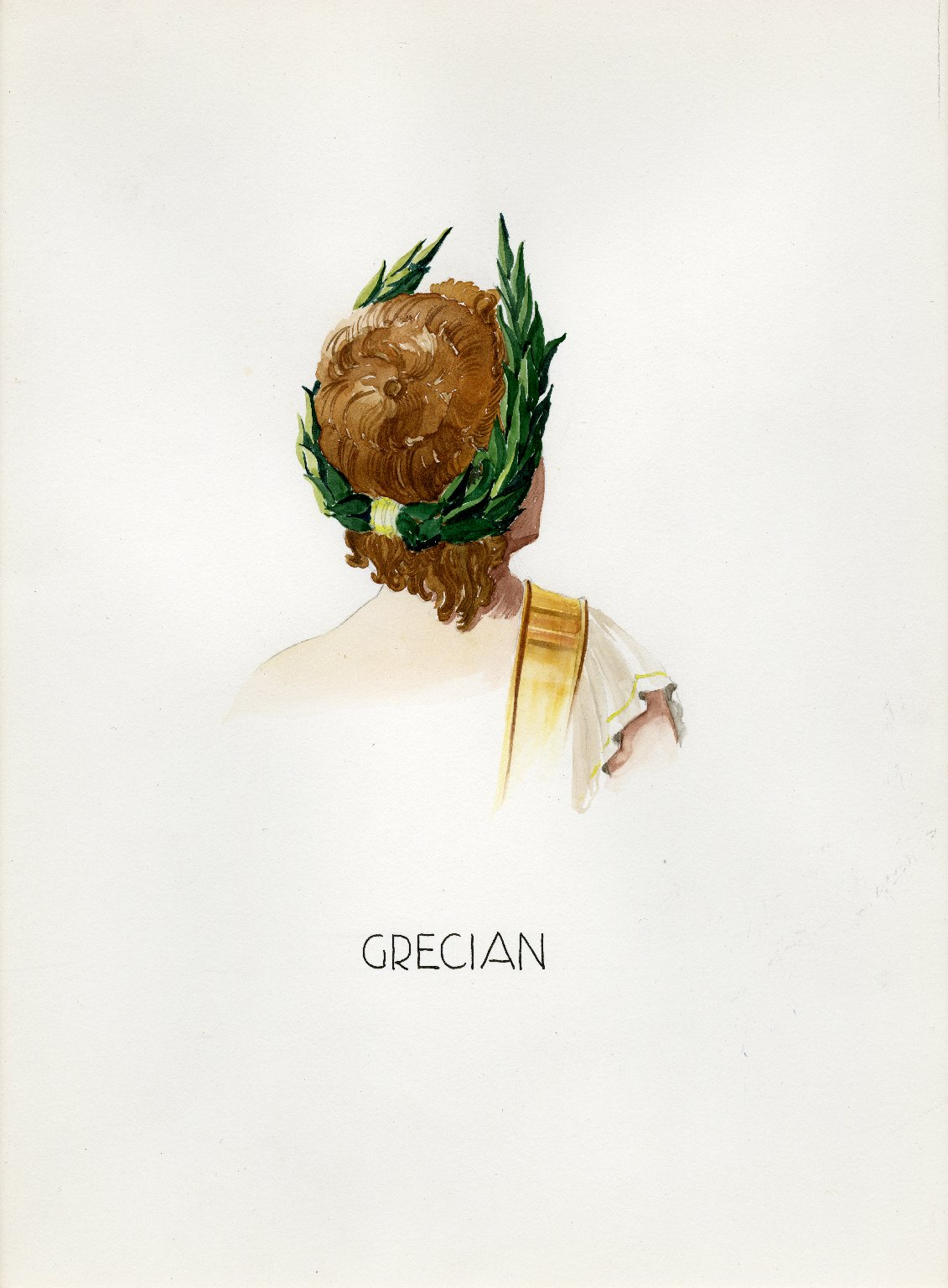 Plate V: Grecian headdress