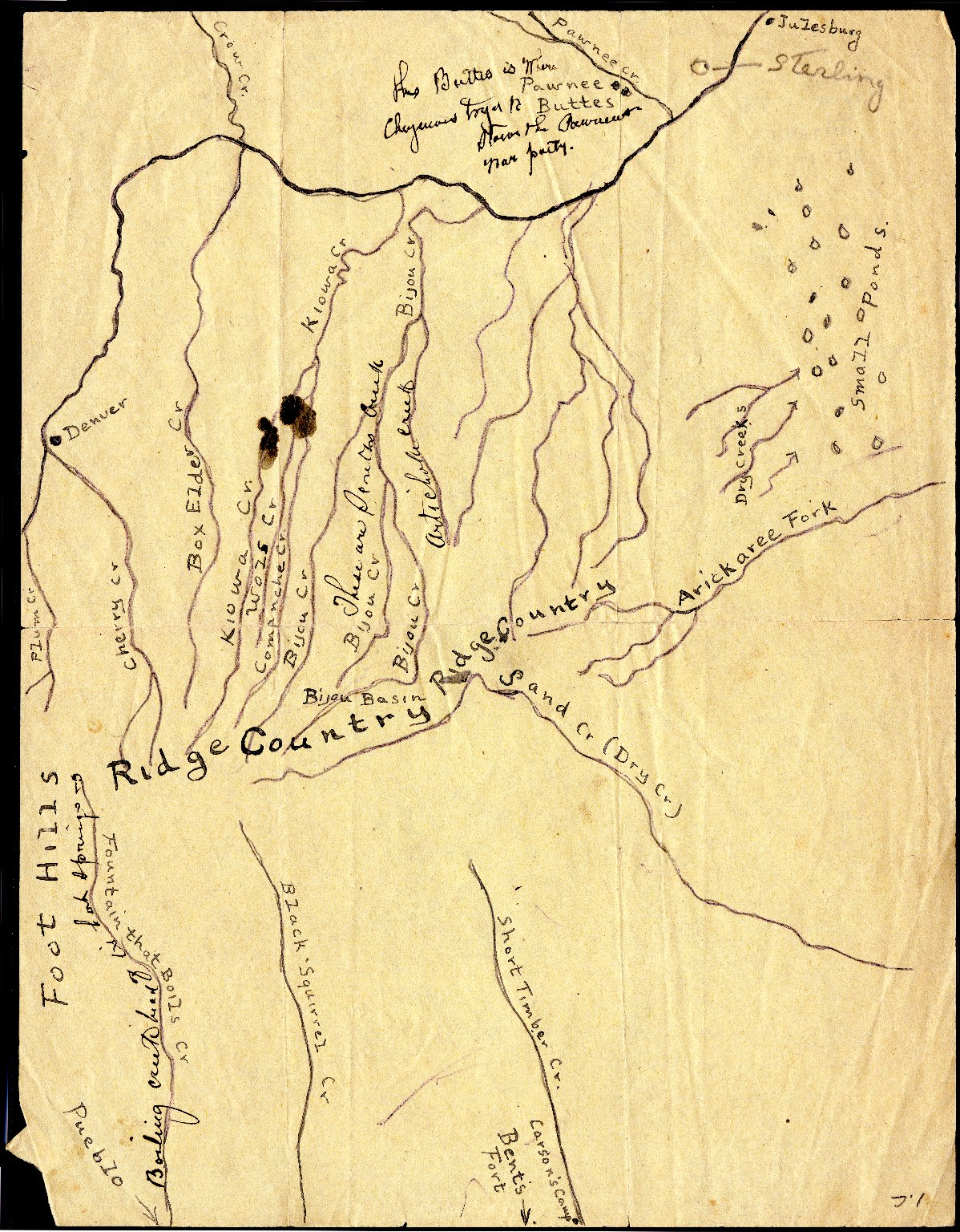 Kiowa Fight, 1820