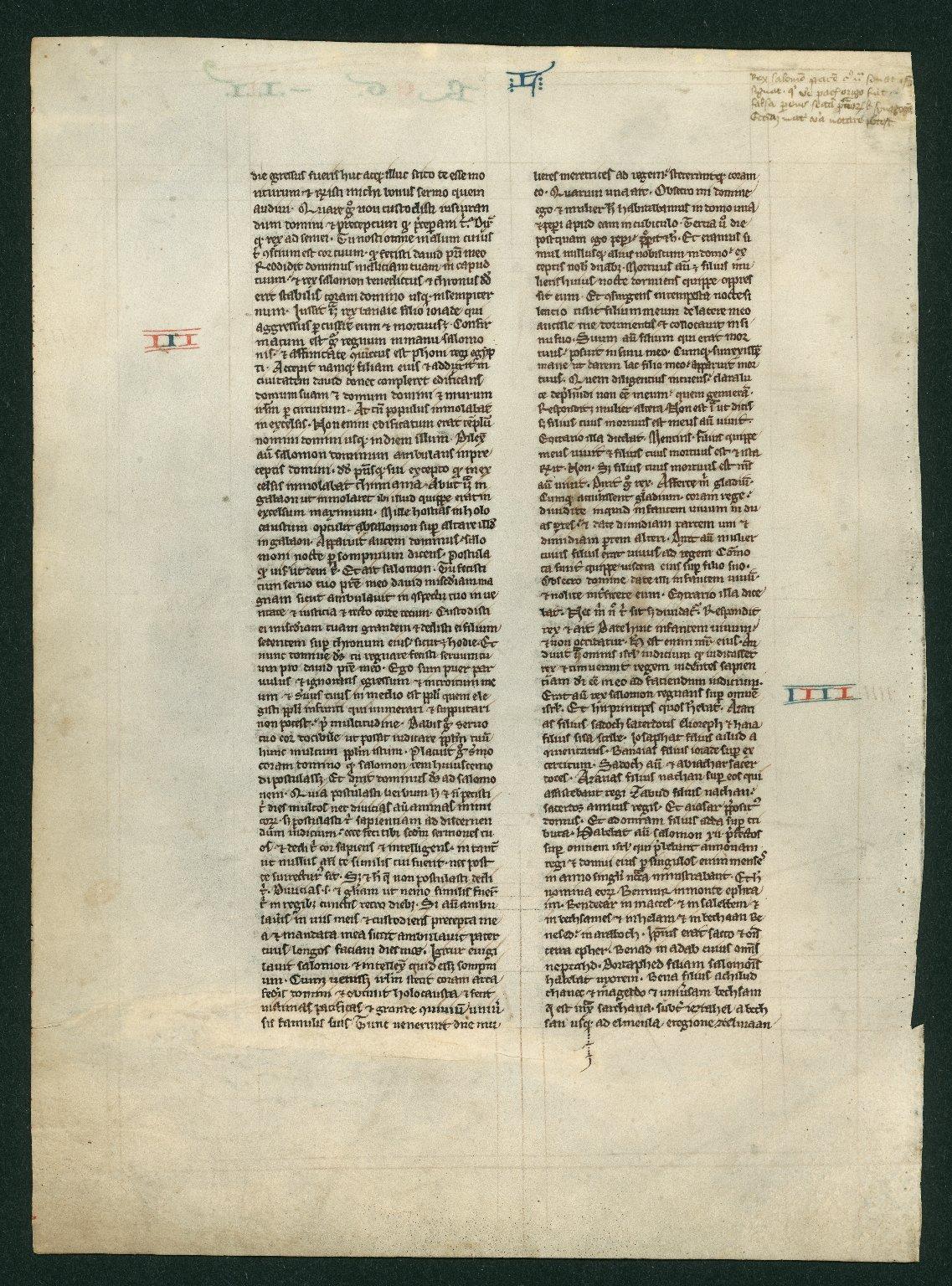 [Cambridge?] Bible