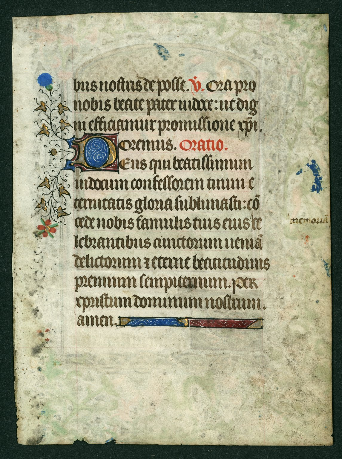 Book of Hours leaves