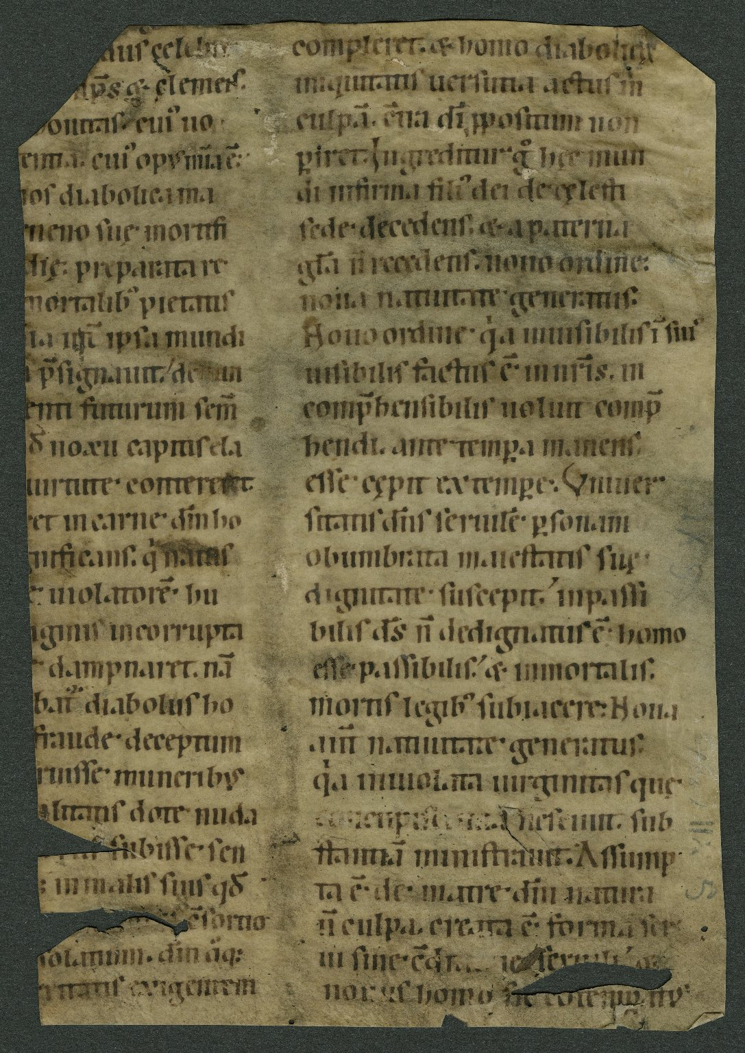 Unidentified Latin text