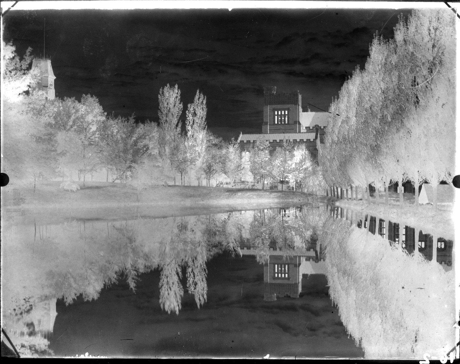 Macky Auditorium & Varsity Lake Dam