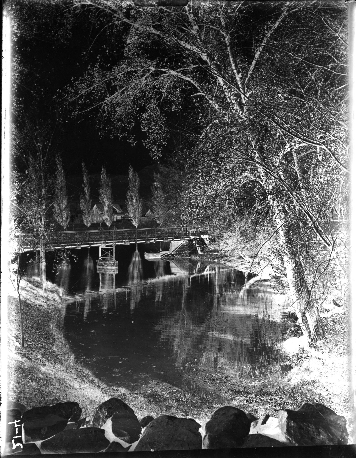 [Bridge Over Varsity Lake]