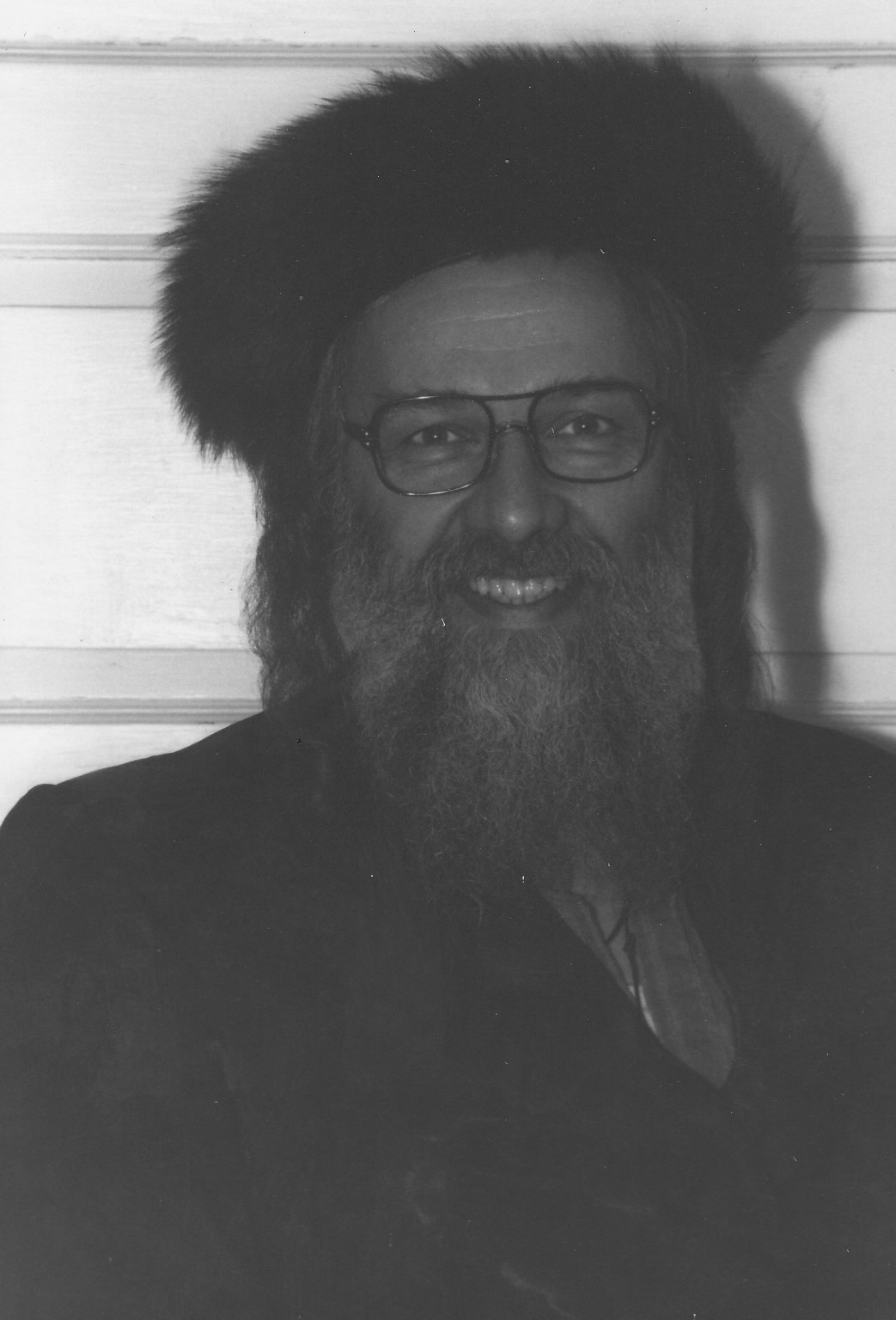 Rabbi Zalman Schachter in fur shtrimel, ca. 1970s.