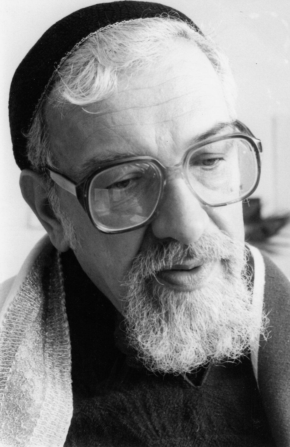 Rabbi Zalman Schachter-Shalomi, ca. 1980s.